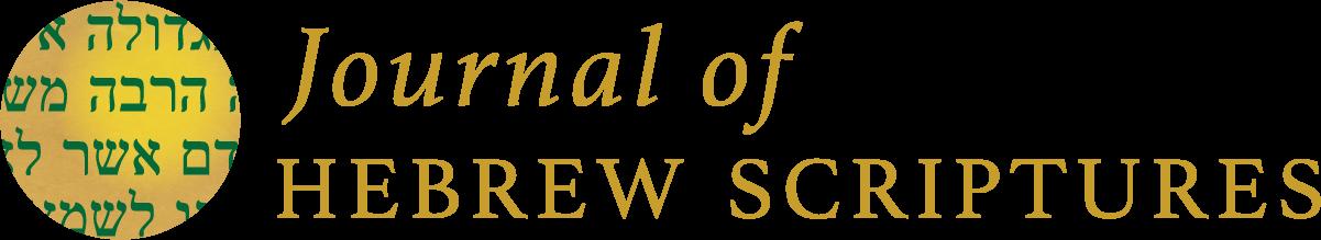 Journal of Hebrew Scriptures.